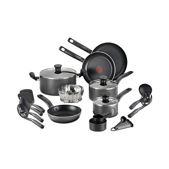 T-Fal 18 Piece Nonstick Cookware Set
