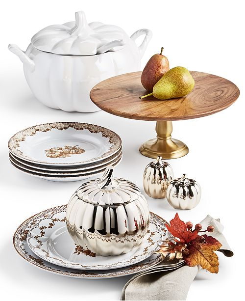 Martha Stewart Collection Harvest Dinnerware Collection, Created for Macy's