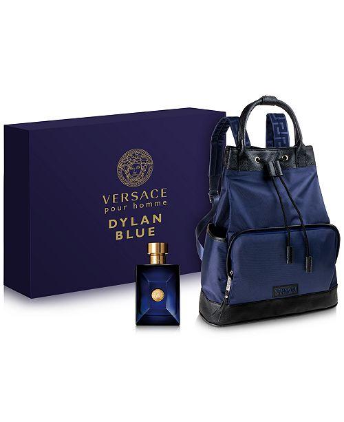 Versace Men's 2-Pc. Dylan Blue Pour Homme Eau de Toilette Gift Set