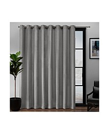 "Loha Patio Grommet Top Single Curtain Panel, 108"" x 84"""