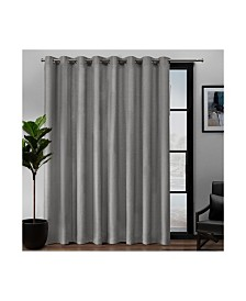 "Exclusive Home Loha Patio Grommet Top 108"" X 84"" Single Curtain Panel"