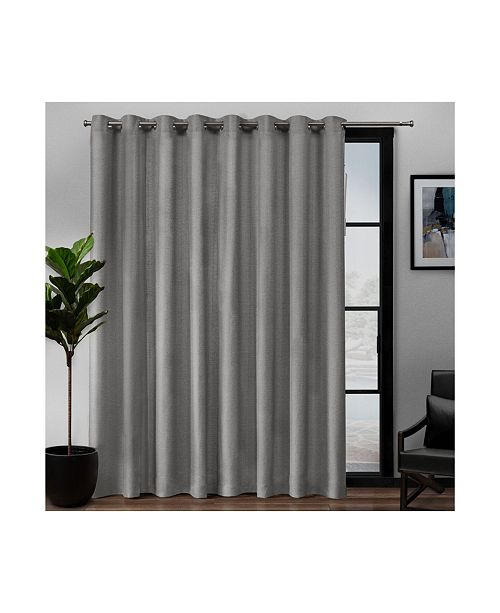 Grommet Top Single Curtain Panel