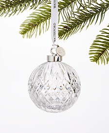 Waterford 2019  Ball Ornament, Created for Macy's