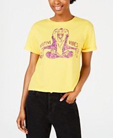 Mighty Fine Juniors' Rafiki Good Vibes T-Shirt