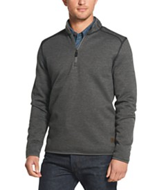 G.H. Bass & Co. Men's Fleece Quarter-Zip Sweatshirt
