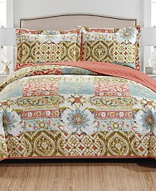 Hunter 3-Piece Reversible Quilt Set - Queen