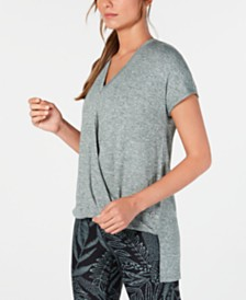 Calvin Klein Performance Draped High-Low Top
