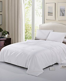 Cheer Collection Tussah Silk Comforter - King