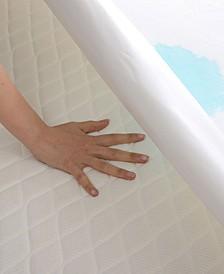 Velvet Plush Waterproof Queen Mattress Protector