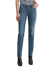 Levi's® Classic Button-Front Straight Jeans
