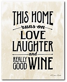 Love, Laughter and Wine Gallery-Wrapped Canvas Wall Art Collection