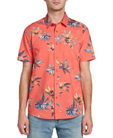 Volcom Men's Verano Stone Floral-Print Shirt