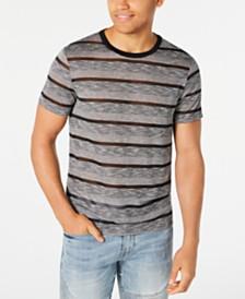 GUESS Men's Nightwatch Sheer Stripe T-Shirt