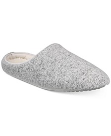 Sweater Knit Slippers With Memory Foam, Created for Macy's
