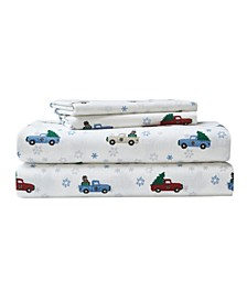 Winter Outing Flannel Sheet Set, Full