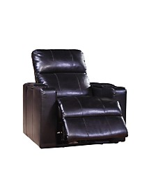 Carroll Power Recliner w/ USB Port and Storage, Quick Ship