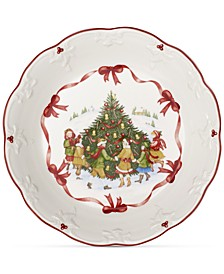 Toy's Fantasy Large Bowl: Dancing Around Tree