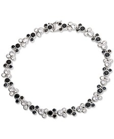 Cubic Zirconia Mickey Mouse Tennis Bracelet in Sterling Silver
