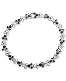 Disney Cubic Zirconia Mickey Mouse Tennis Bracelet in Sterling Silver