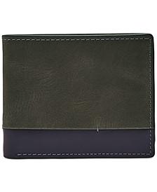 Men's Rance Flip ID Colorblocked Leather Wallet