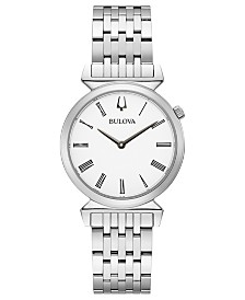 Bulova Regatta Collection Stainless Steel Bracelet Watch