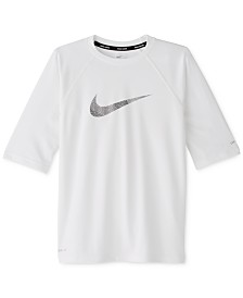 Nike Big Boys Mash Up Half-Sleeve Dri-FIT Rash Guard