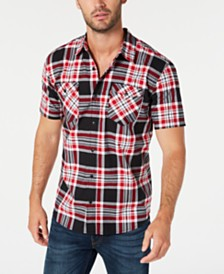 Levi's® Men's Dual Pocket Plaid Shirt Shirt