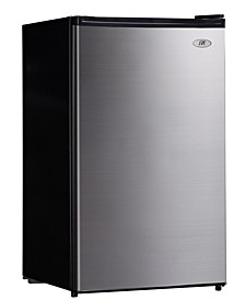 SPT 4.4 cubic feet Compact Refrigerator with Energy Star - Stainless