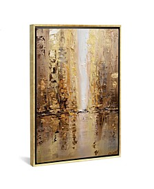 """Golden City by Osnat Tzadok Gallery-Wrapped Canvas Print - 26"""" x 18"""" x 0.75"""""""
