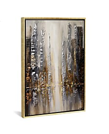"""Silver City by Osnat Tzadok Gallery-Wrapped Canvas Print - 26"""" x 18"""" x 0.75"""""""