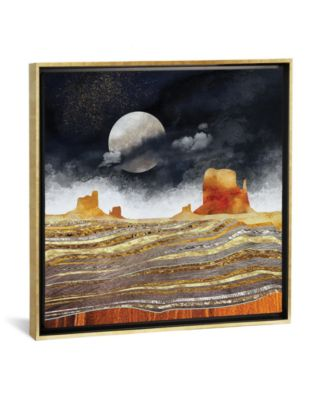 """Metallic Desert by Spacefrog Designs Gallery-Wrapped Canvas Print - 37"""" x 37"""" x 0.75"""""""