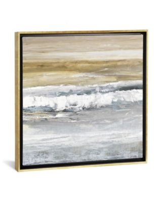"""Tides Ii by Rachel Springer Gallery-Wrapped Canvas Print - 37"""" x 37"""" x 0.75"""""""