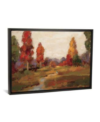 "Fall Creek by Silvia Vassileva Gallery-Wrapped Canvas Print - 26"" x 40"" x 0.75"""