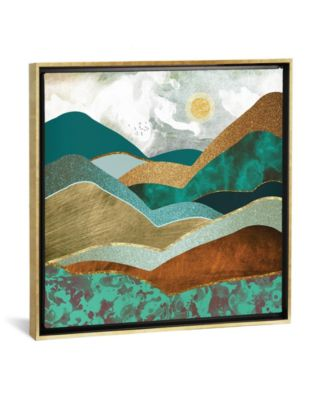 """Golden Hills by Spacefrog Designs Gallery-Wrapped Canvas Print - 37"""" x 37"""" x 0.75"""""""