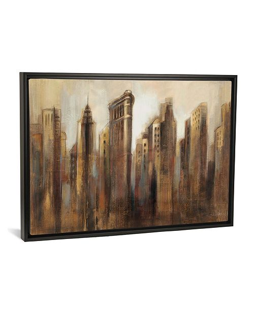 "iCanvas Flatiron Skyline by Silvia Vassileva Gallery-Wrapped Canvas Print - 18"" x 26"" x 0.75"""