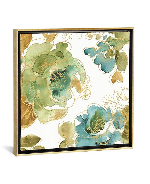 """iCanvas My Greenhouse Roses Ii by Lisa Audit Gallery-Wrapped Canvas Print - 37"""" x 37"""" x 0.75"""""""