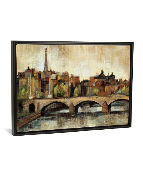 "iCanvas Paris Bridge I Spice by Silvia Vassileva Gallery-Wrapped Canvas Print - 18"" x 26"" x 0.75"""