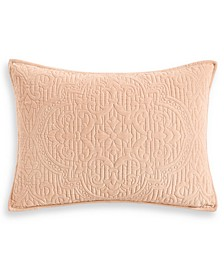Classic Roseblush Quilted Standard Sham, Created for Macy's
