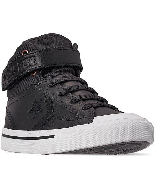 Converse Little Boys Pro Blaze Martian High Top Sneakers