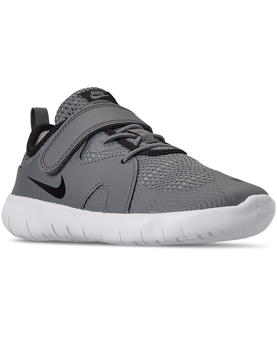 Nike Little Boys Flex Contact 3 Casual Athletic Sneakers From