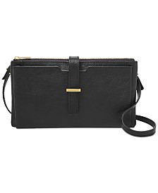 Fossil Gina Leather Crossbody Wallet