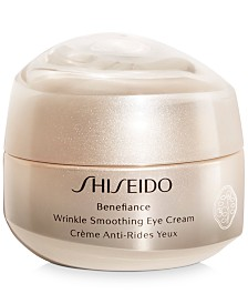 Shiseido Benefiance Wrinkle Smoothing Eye Cream, 0.51-oz.