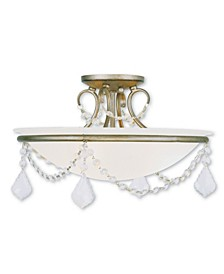 Chesterfield 3-Light Ceiling Mount