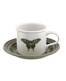 Portmeirion Botanic Garden Harmony  Butterfly Cup & Saucer