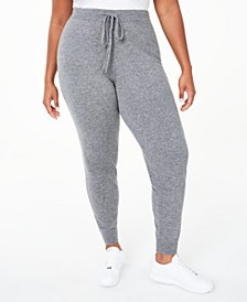 Plus Size Cashmere Jogger Pants, Created for Macy's