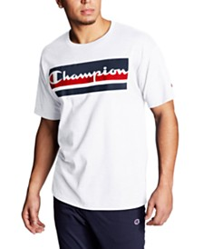 Champion Men's Block-Logo T-Shirt
