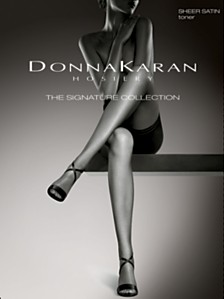 Donna Karan Women's Signature Satin Sheer with Restore Technology™ D0B109