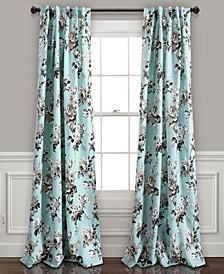 Tania Floral Curtain Sets