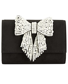 INC Maraa Pearl Bow Clutch, Created for Macy's