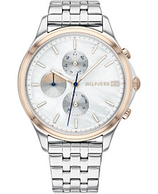 Tommy Hilfiger Women's Stainless Steel Bracelet Watch 36mm, Created For Macy's